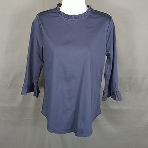 3 for $10- Ann Taylor XS Navy Blouse NEW